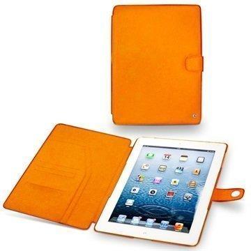 iPad 3 iPad 4 Noreve Tradition Nahkakotelo Oranssi