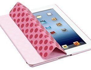 iPad 3 iPad 4 Ozaki iCoat Slim-Y foldable Case Post Modernism Pink