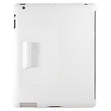 iPad 3 iPad 4 Ozaki iCoat Wardrobe Snap-on Cover White