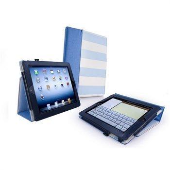 iPad 3 iPad 4 Tuff-Luv Candy Rock Kotelo Sininen