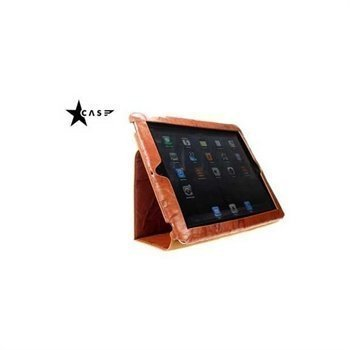 iPad 3 iPad 4 iPad 2 Starcase Holder Leather Case Lavato Tobacco