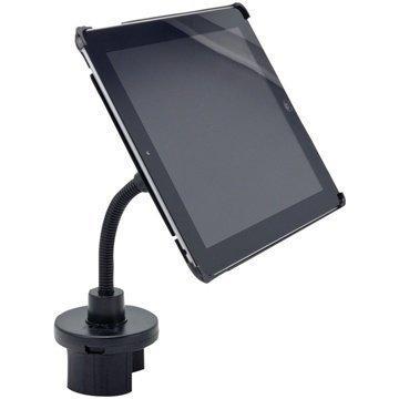 iPad 4 iPad 3 iPad 2 Arkon IPM3-123G Car Holder Cup Holder Mount Black