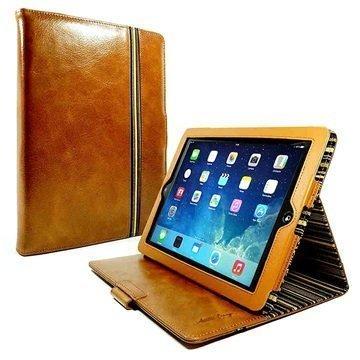 iPad Air 2 Alston Craig Nahkakotelo Ruskea