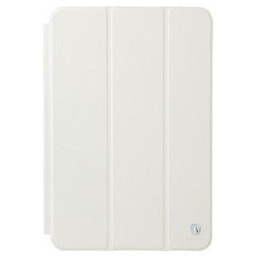 iPad Air 2 Baseus Primary Color Series Smart Nahkakotelo Valkoinen