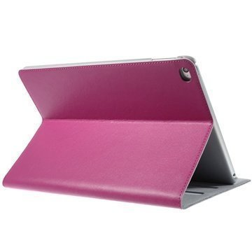iPad Air 2 Doormoon Smart Folio Nahkakotelo Kuuma Pinkki