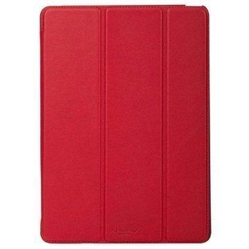 iPad Air 2 Knomo Folio Nahkakotelo Scarlet