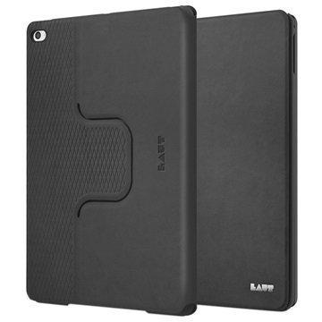iPad Air 2 Laut R-Evolve Pyörivä Smart Folio Kotelo Musta