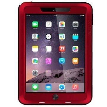 iPad Air 2 Love Mei Powerful Hybrid Suojakuori Punainen