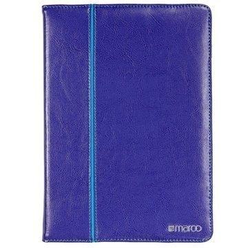 iPad Air 2 Maroo Executive Folio Nahkainen Suojakotelo Violetti