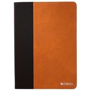 iPad Air 2 Maroo Executive Folio Suojakotelo Tupakka