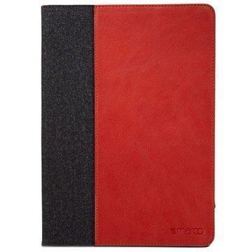 iPad Air 2 Maroo Woodland Folio Case Punainen