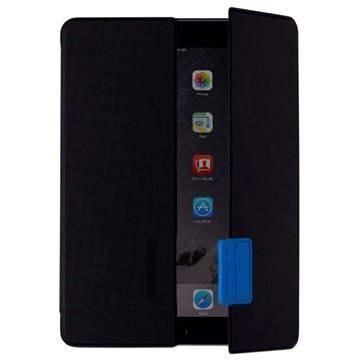 iPad Air 2 Momax Smarter Series Folio Kotelo Musta