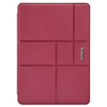 iPad Air 2 Nillkin Elegance Smart Folio Kotelo Punainen