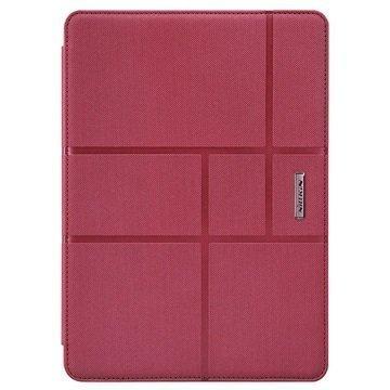 iPad Air 2 Nillkin Elegance Smart Folio Kotelo Punainen