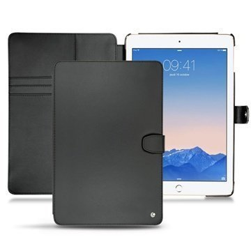 iPad Air 2 Noreve Tradition B Leather Case Perpétuelle Musta