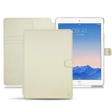 iPad Air 2 Noreve Tradition B Nahkainen Perpétuelle Couture Valkoinen