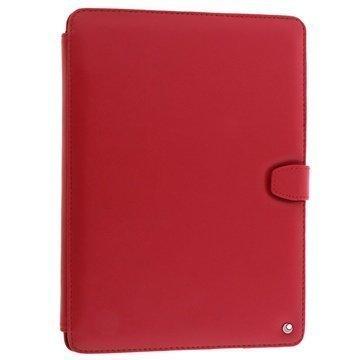 iPad Air 2 Noreve Tradition B Nahkainen Suojakotelo Perpétuelle Punainen
