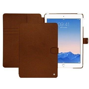iPad Air 2 Noreve Tradition B Nahkainen Suojakotelo Perpétuelle Ruskea