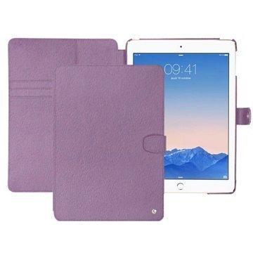 iPad Air 2 Noreve Tradition B Nahkainen Suojakotelo Perpétuelle Violetti