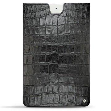 iPad Air 2 Noreve Tradition C Nahkainen Horizon Krokodiili Musta