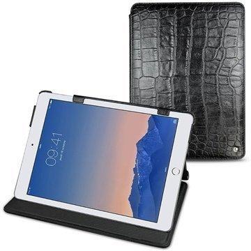 iPad Air 2 Noreve Tradition Nahkainen Suojakotelo Crocodile Musta