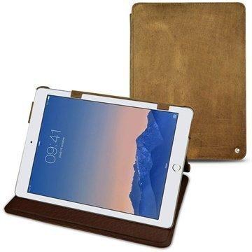 iPad Air 2 Noreve Tradition Nahkainen Suojakotelo- Exception Vintage Hiekka