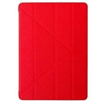 iPad Air 2 Ozaki O!Coat Slim-Y Versatile 360° Smart Punainen