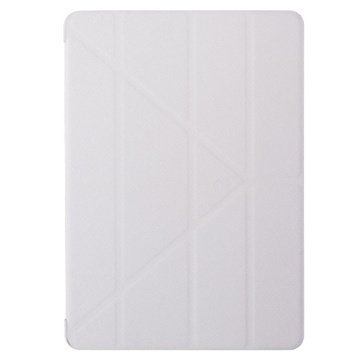 iPad Air 2 Ozaki O!Coat Slim-Y Versatile 360° Smart Suojakotelo Valkoinen