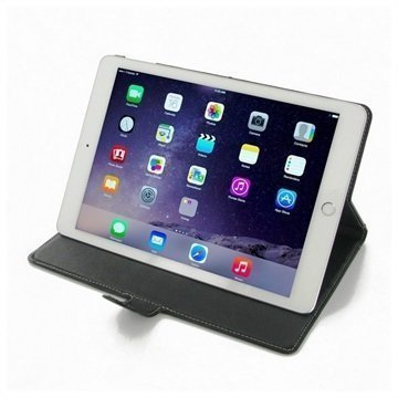 iPad Air 2 PDair Leather Case Black