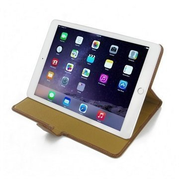 iPad Air 2 PDair Leather Case Ruskea
