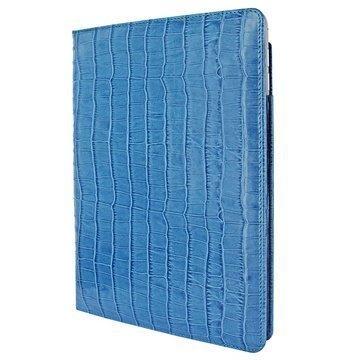 iPad Air 2 Piel Frama Cinema Nahkakotelo Krokotiili Sininen