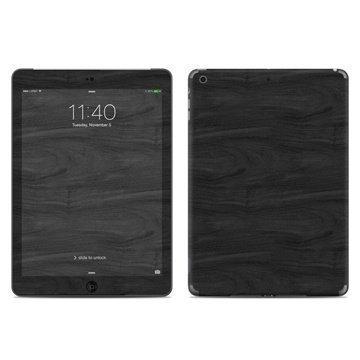iPad Air Black Woodgrain Skin