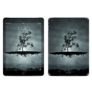 iPad Air Flying Tree Black Skin