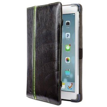 iPad Air Maroo Kope Folio Nahkainen Suojakotelo Musta