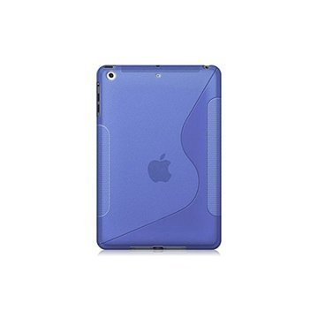 iPad Air Naztech TPU Silicone Case Transparent Purple