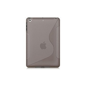 iPad Air Naztech TPU Silicone Case Transparent Smoke