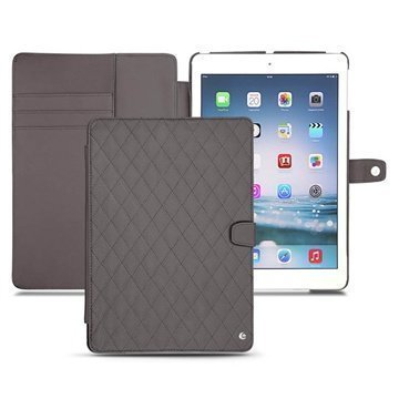 iPad Air Noreve Tradition B Flip Leather Case Anthracite