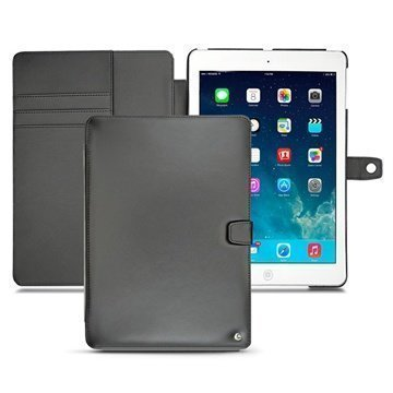 iPad Air Noreve Tradition B Flip Leather Case Black