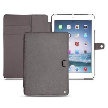 iPad Air Noreve Tradition B Läpällinen Nahkakotelo Antrasiitti