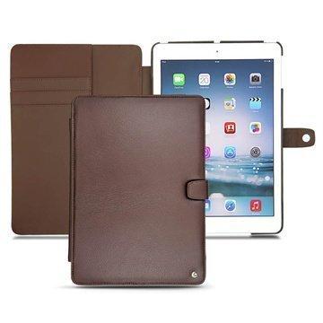iPad Air Noreve Tradition B Läpällinen Nahkakotelo Kastanjanruskea