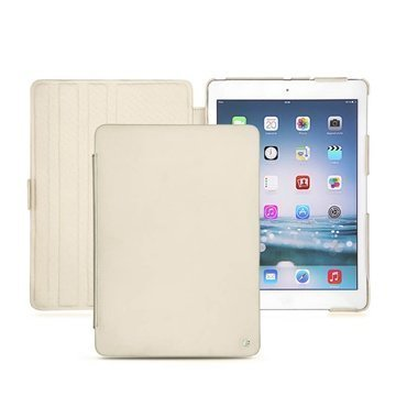 iPad Air Noreve Tradition Flip Leather Case Beige