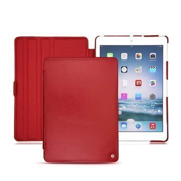 iPad Air Noreve Tradition Flip Leather Case Red