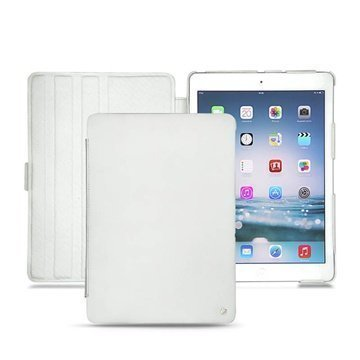 iPad Air Noreve Tradition Flip Leather Case White