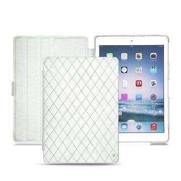 iPad Air Noreve Tradition Läpällinen Nahkakotelo Ambition Couture Valkoinen
