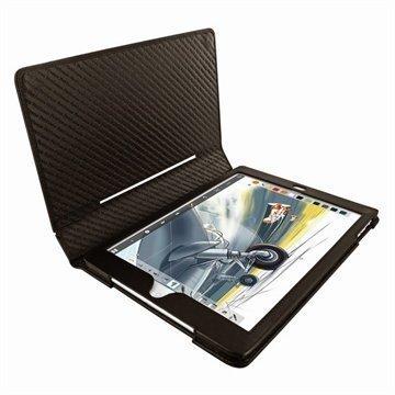 iPad Air Piel Frama Folio Style Nahkakotelo Ruskea
