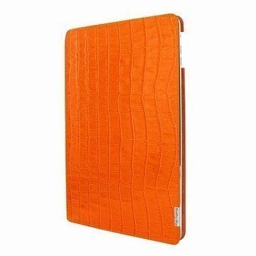 iPad Air Piel Frama FramaSlim Nahkakotelo Krokotiili Oranssi