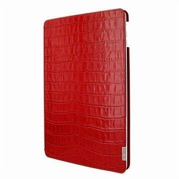iPad Air Piel Frama FramaSlim Nahkakotelo Krokotiili Punainen