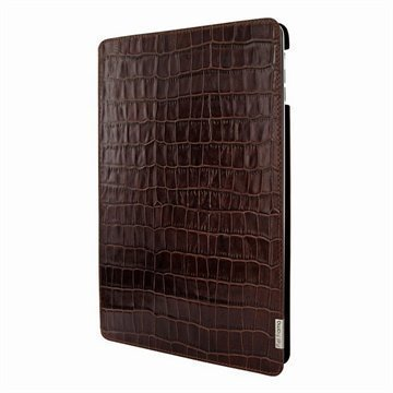iPad Air Piel Frama FramaSlim Nahkakotelo Krokotiili Ruskea
