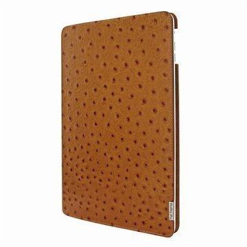 iPad Air Piel Frama FramaSlim Nahkakotelo Strutsi Ruskea