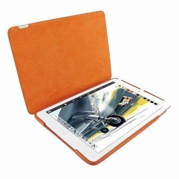 iPad Air Piel Frama Framagrip Nahkakotelo Oranssi